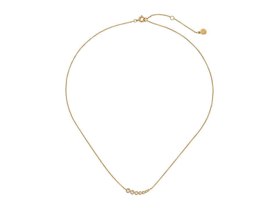gorjana Candice Shimmer Necklace Gold Necklace