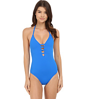La Blanca - Island Goddess Multi Strap Cross-Back Mio One-Piece 2