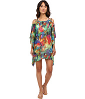 La Blanca - Feathering Colors Cold Shoulder Tunic
