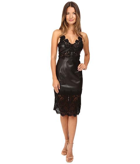 Philipp Plein Lace Trim Sleeveless Dress