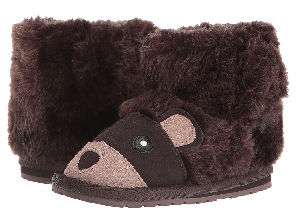 EMU Australia Kids Bear Walker (Infant) (Chocolate) Kids Shoes