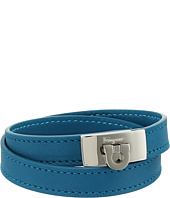 Salvatore Ferragamo - Leather Wrap Bracelet