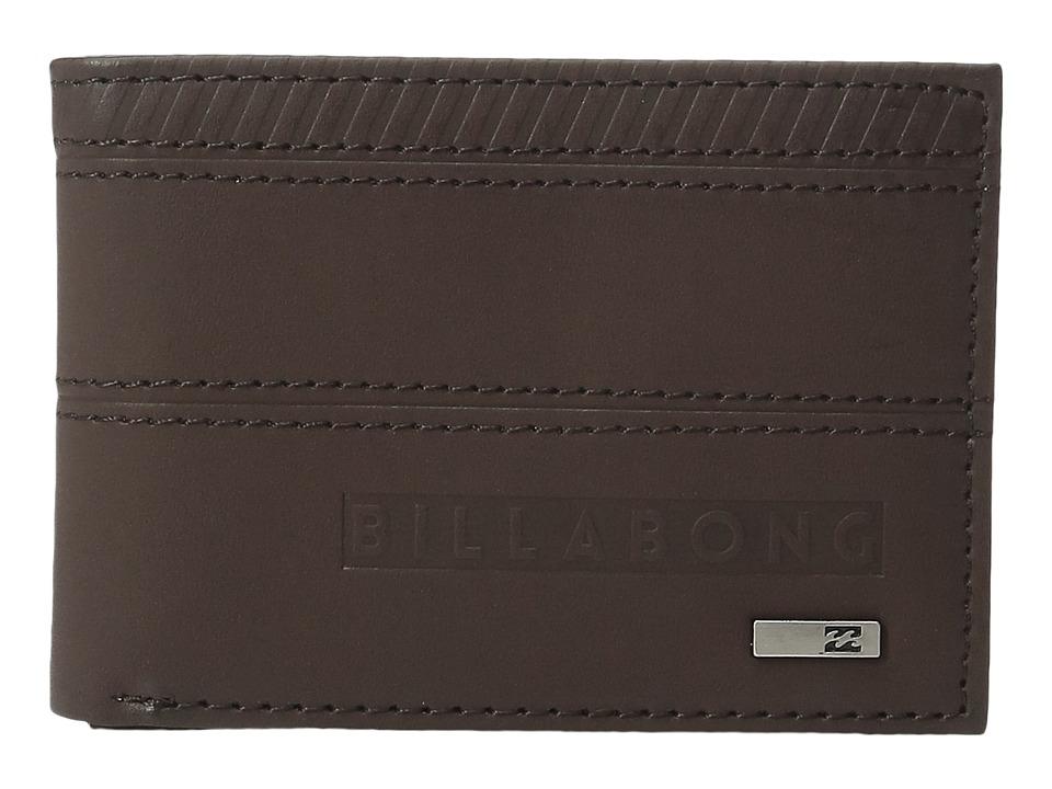 Billabong - Vacant Wallet (Chocolate) Wallet Handbags