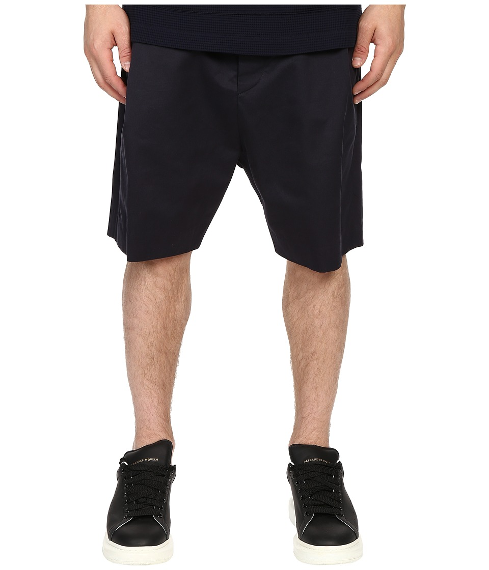Mohsin Single Pleat Femi Shorts Navy Mens Shorts