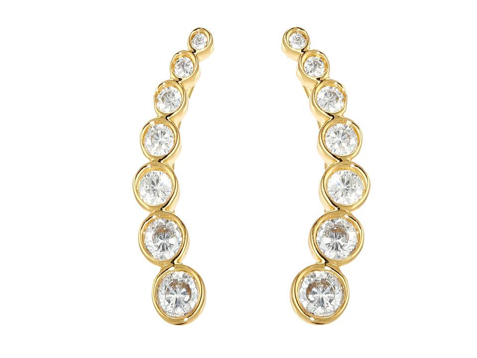 gorjana Candice Shimmer Ear Climbers Earrings Gold Earring