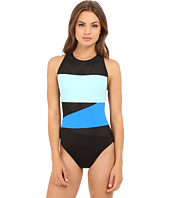 La Blanca - Technicolor Over the Shoulder Crossback One-Piece