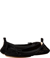 Yosi Samra - Sandrine Perforated Kid Suede