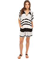 La Blanca - Between The Lines Tunic Cover-Up