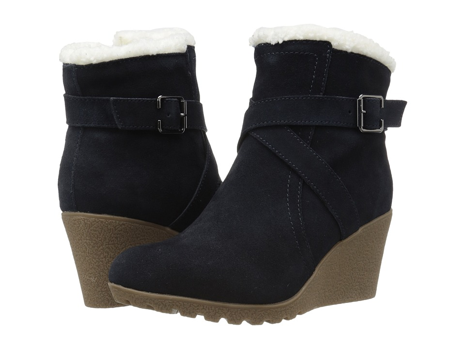 Hush Puppies - Amber Miles IIV (Navy Waterproof Suede) Women