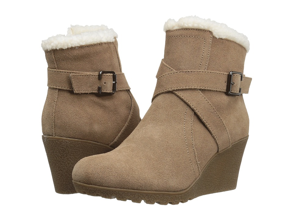 Hush Puppies - Amber Miles IIV (Camel Waterproof Suede) Women