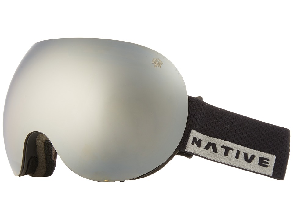 Native Eyewear Backbowl (Black Rip/Rose/Silver Reflex) Snow Goggles