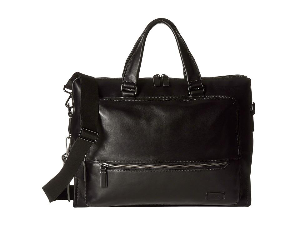 Tumi - Harrison - Madden Brief (Black) Briefcase Bags
