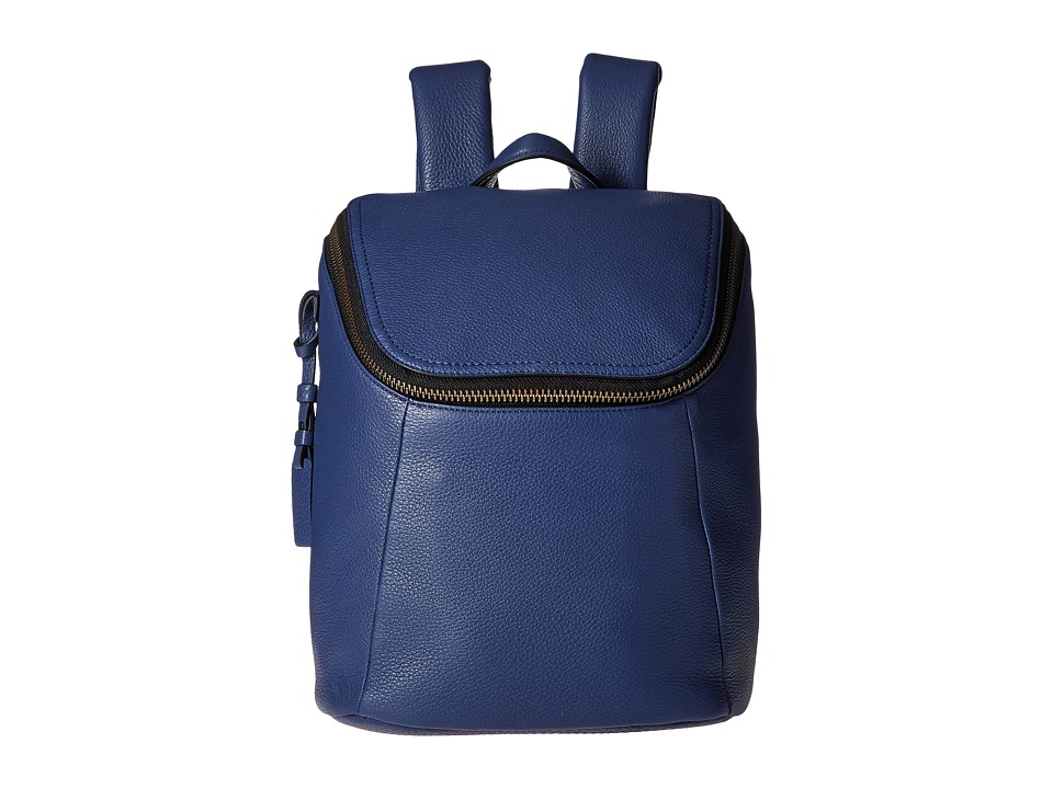 Tumi Noho Waverly Small Backpack Steel Blue Backpack Bags