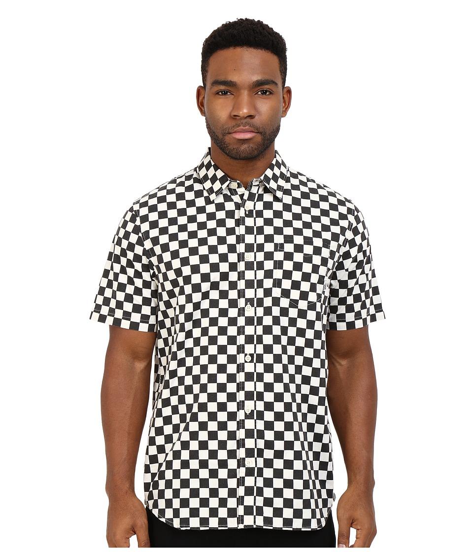 Vans Cypress Checker Black/Whitecaps Mens Clothing