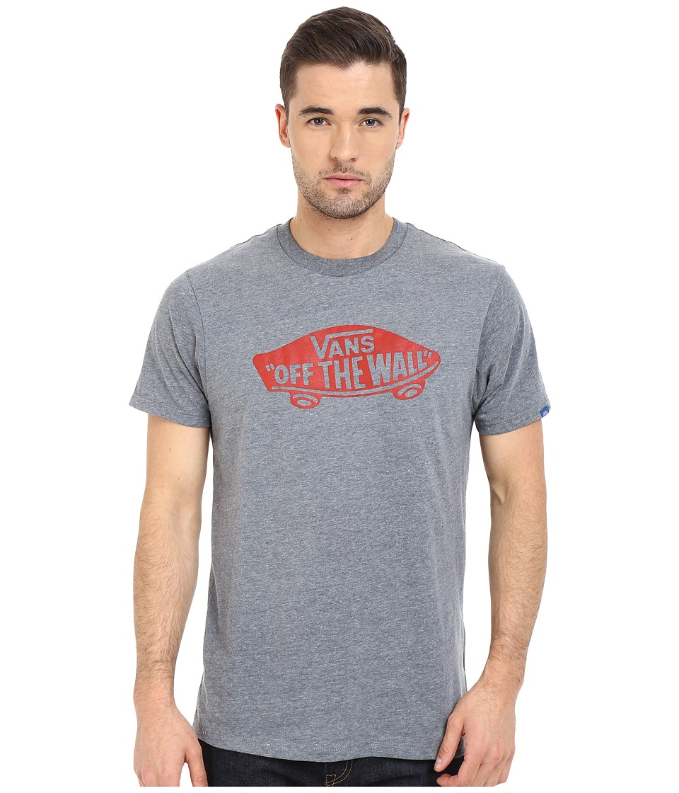 Vans Vans OTW Tee Heather Grey/Racing Red Mens T Shirt