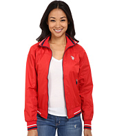 U.S. POLO ASSN. - Solid Pongee Windbreaker Jacket
