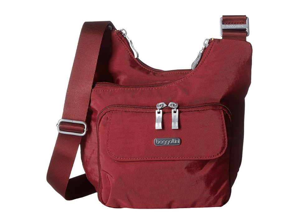 Baggallini - Criss-Cross (Scarlet) Cross Body Handbags