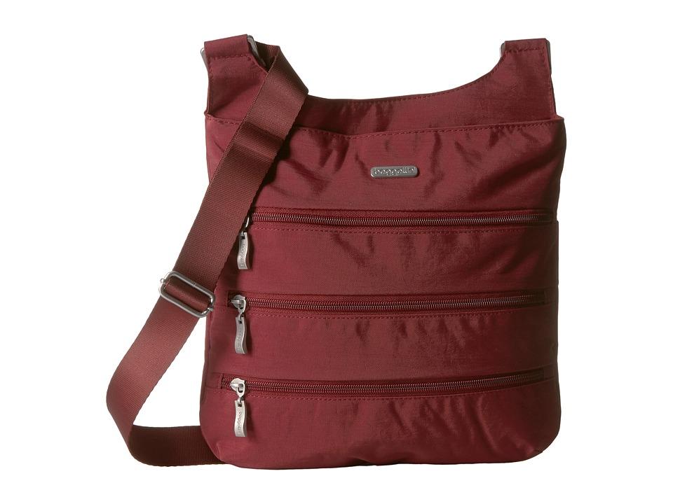 Baggallini - Big Zipper Bagg (Scarlet) Cross Body Handbags