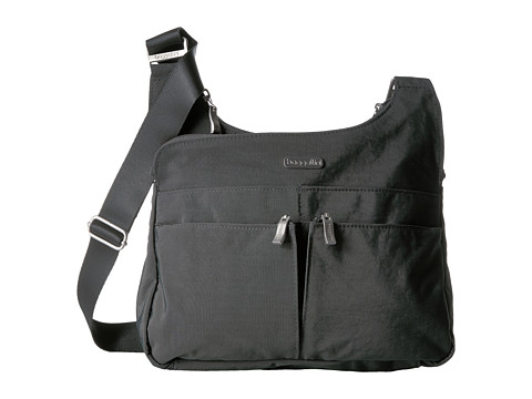 Baggallini Crossover Crossbody - Charcoal