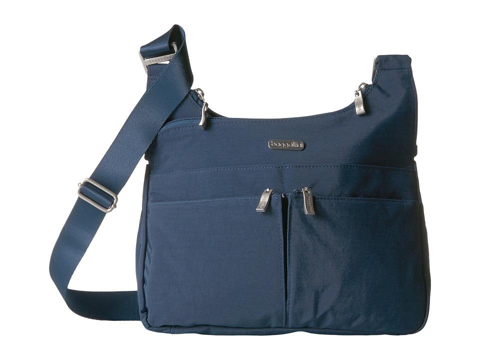 Baggallini Crossover Crossbody (Pacific) Cross Body Handbags