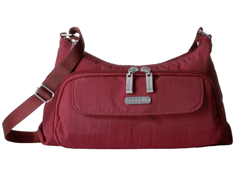 Baggallini - Everyday Bagg (Scarlet) Cross Body Handbags