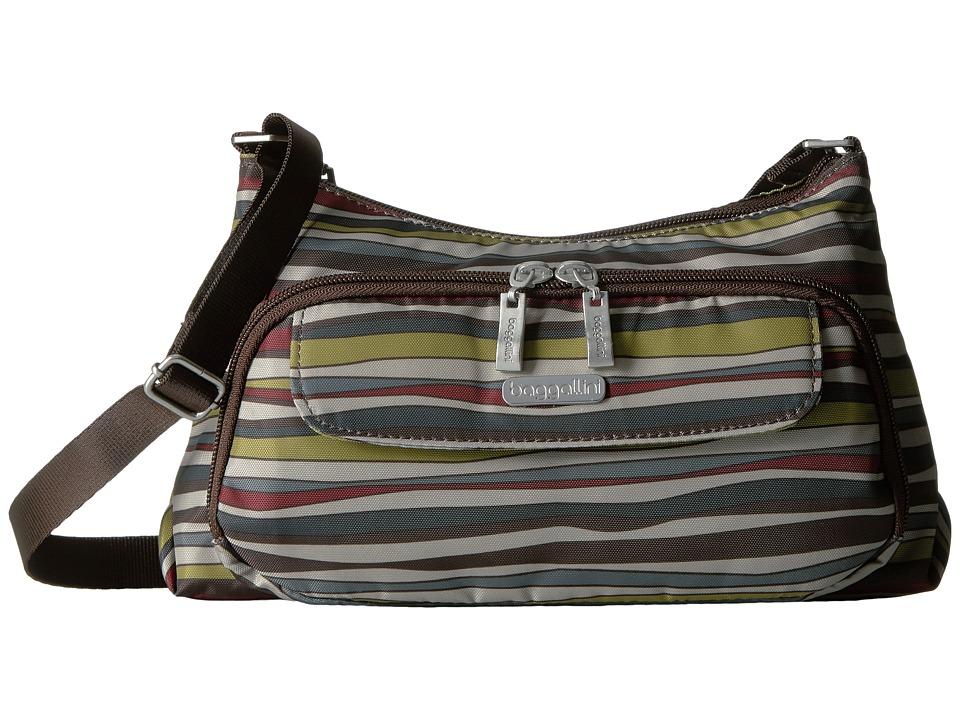 Baggallini - Everyday Bagg (Java Stripe) Cross Body Handbags