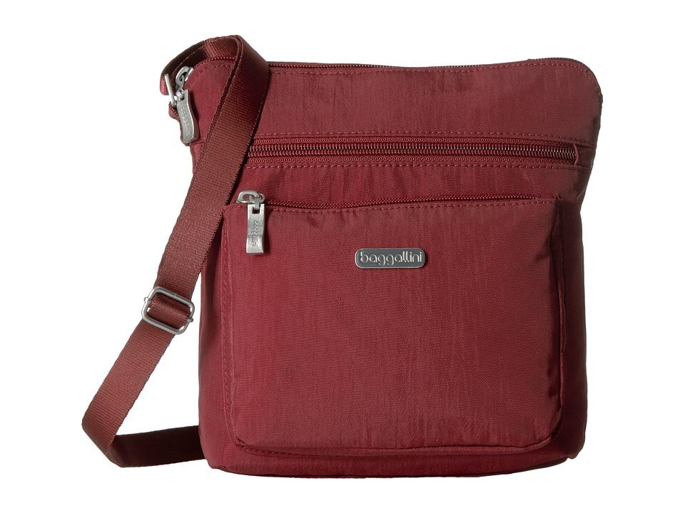 Baggallini - Pocket Crossbody (Scarlet) Cross Body Handbags