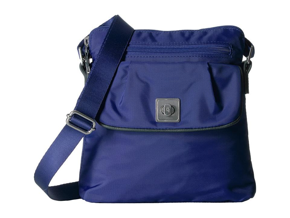 Baggallini - Dilly Dally Crossbody (Cobalt) Cross Body Handbags