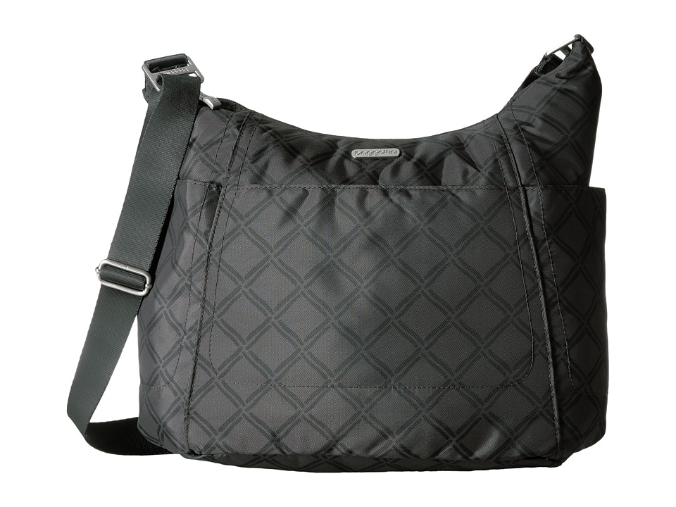 Baggallini Hobo Tote (Charcoal Link) Cross Body Handbags