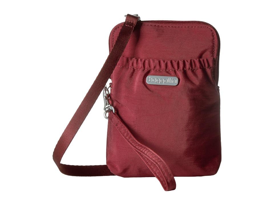 Baggallini - Bryant Pouch (Scarlet) Cross Body Handbags