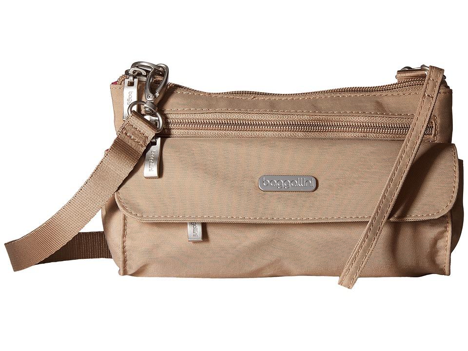 Baggallini Plaza Mini Beach Cross Body Handbags