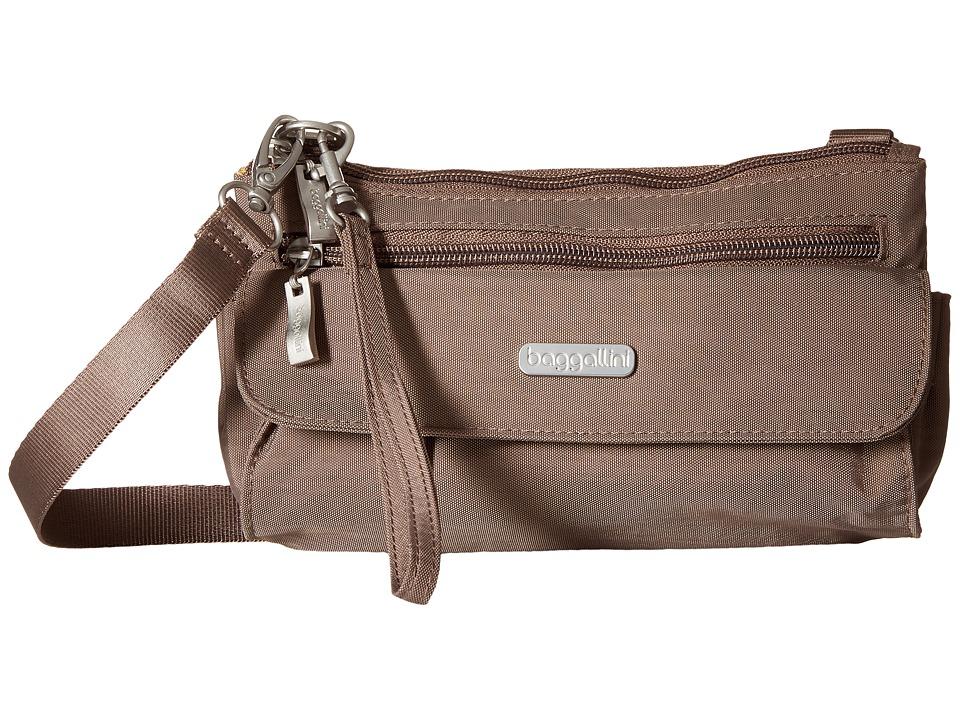 Baggallini Plaza Mini Portobello Cross Body Handbags