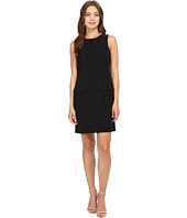 Donna Morgan - Sleeveless Crepe Dress w/ Pockets