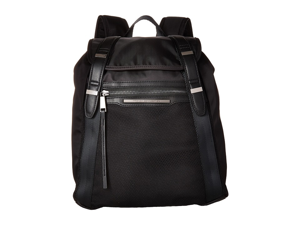 French Connection Indy Backpack Black Backpack Bags