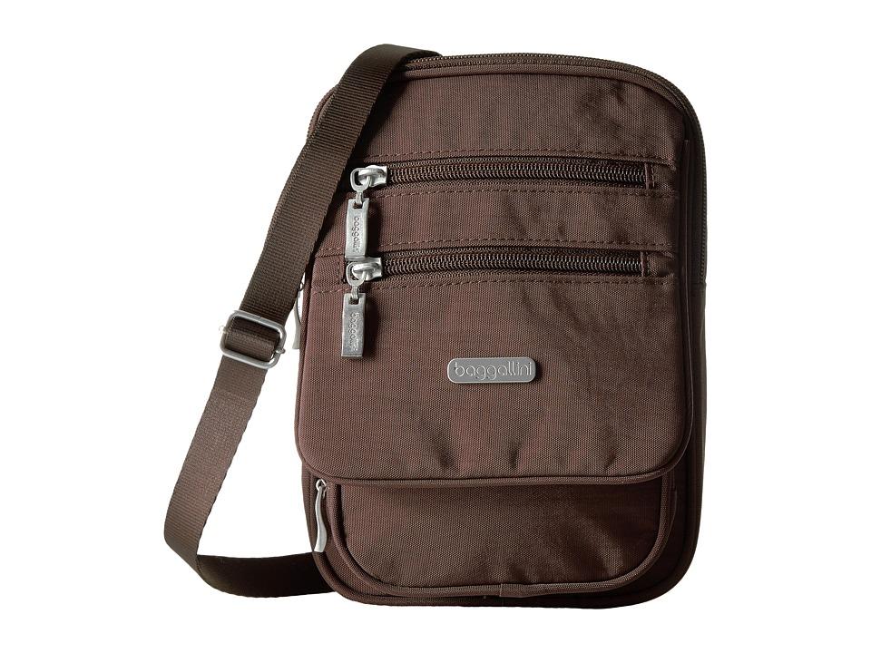 Baggallini - Journey Crossbody (Java) Cross Body Handbags
