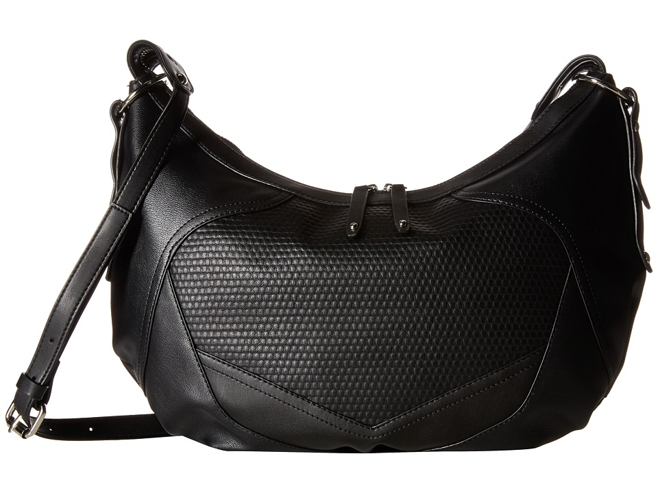 French Connection - Fatima Hobo (Black) Hobo Handbags
