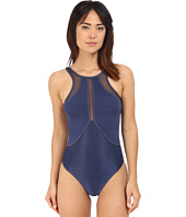 JETS by Jessika Allen - Fusion High Neck One-Piece Swimsuit
