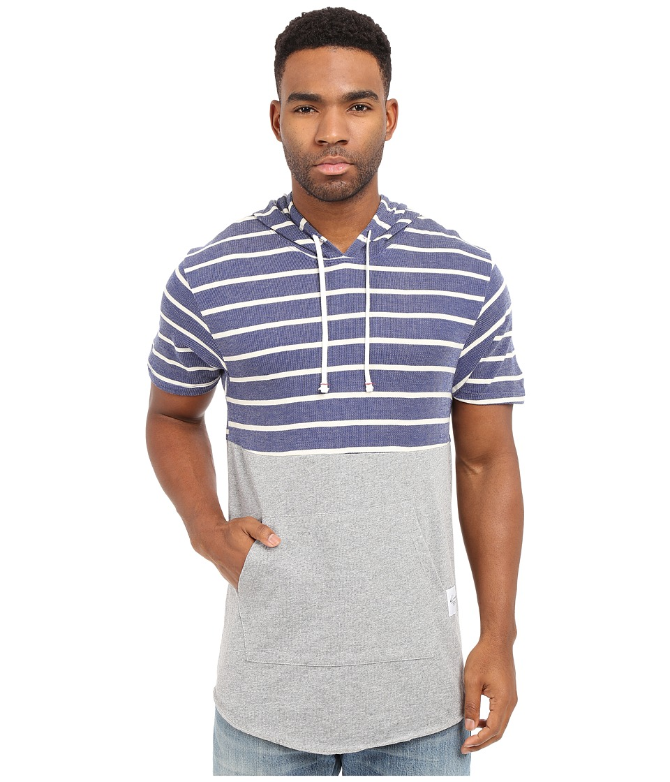 KINETIX Blue Bird Tee Striped Mens T Shirt