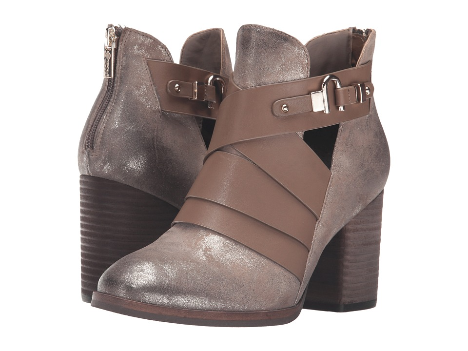 Isola Ladora (Anthracite Distressed Foil Suede) Women