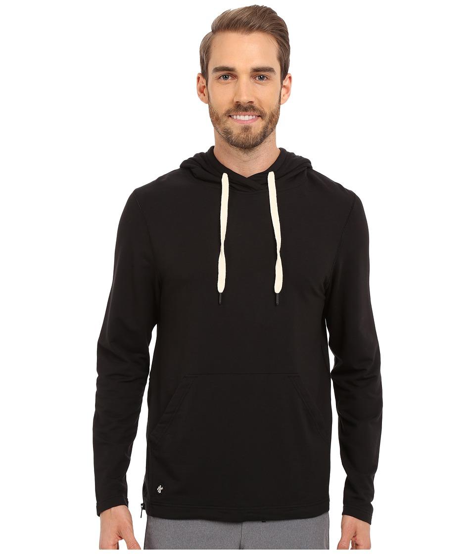 Manduka Intentional Hoodie Black Mens Sweatshirt