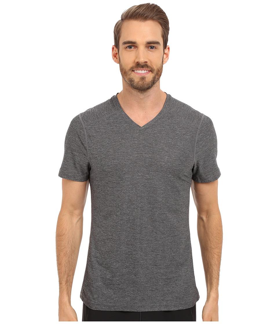 Manduka Minimalist Tee Heather Grey Mens T Shirt