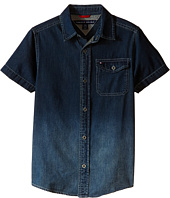 Tommy Hilfiger Kids - Samson Short Sleeve Denim Shirt (Big Kids)