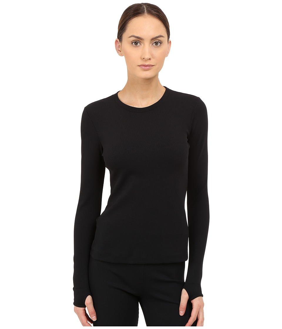 NO KAOI Haku Top Black Womens Long Sleeve Pullover