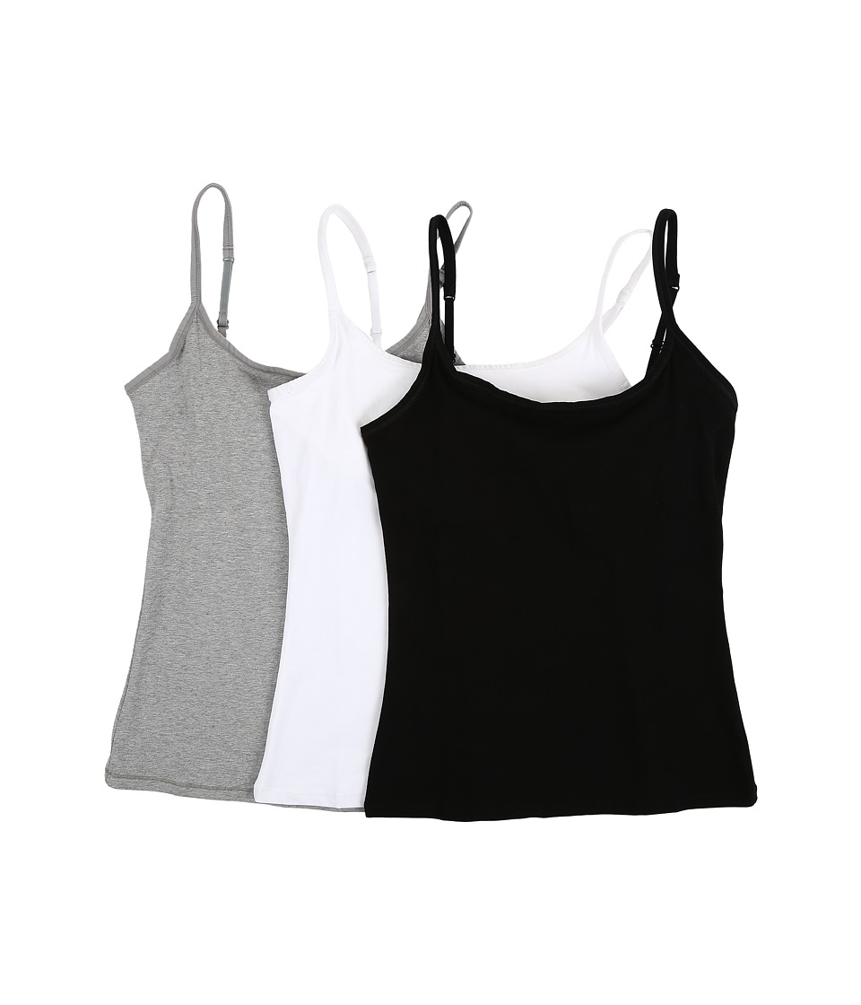 PACT - Everyday Camisole w/ Shelf Bra 3-Pack
