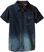 Tommy Hilfiger Kids - Samson Short Sleeve Denim Shirt (Toddler/Little Kids)