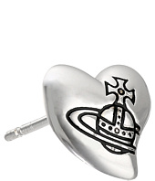 Vivienne Westwood - Caetano Heart Single Stud Earrings