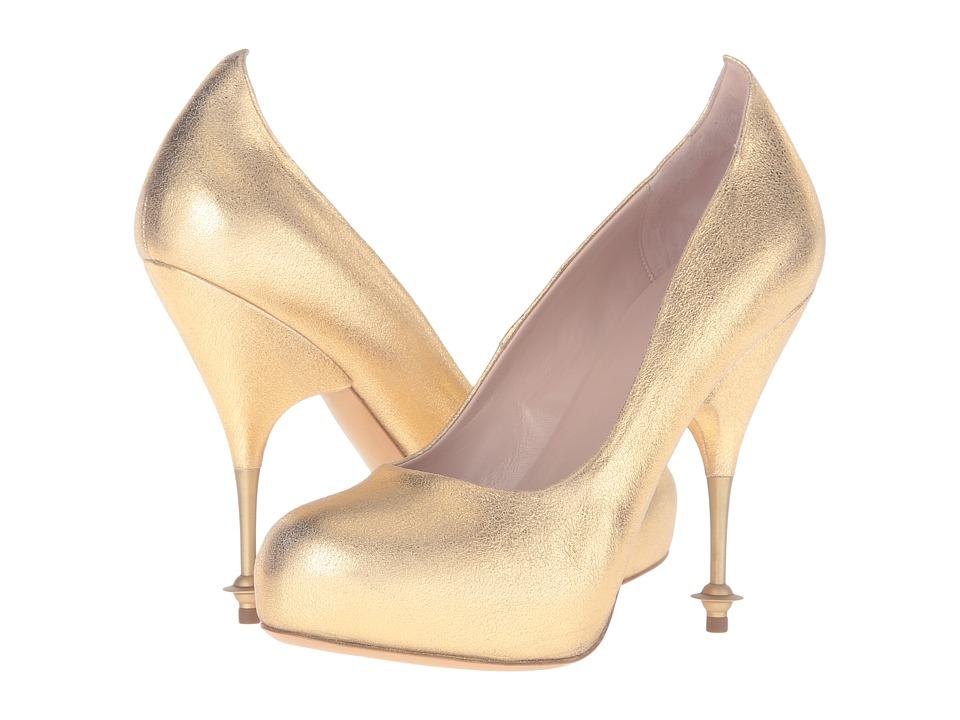 Vivienne Westwood - Drama Court (Gold) High Heels