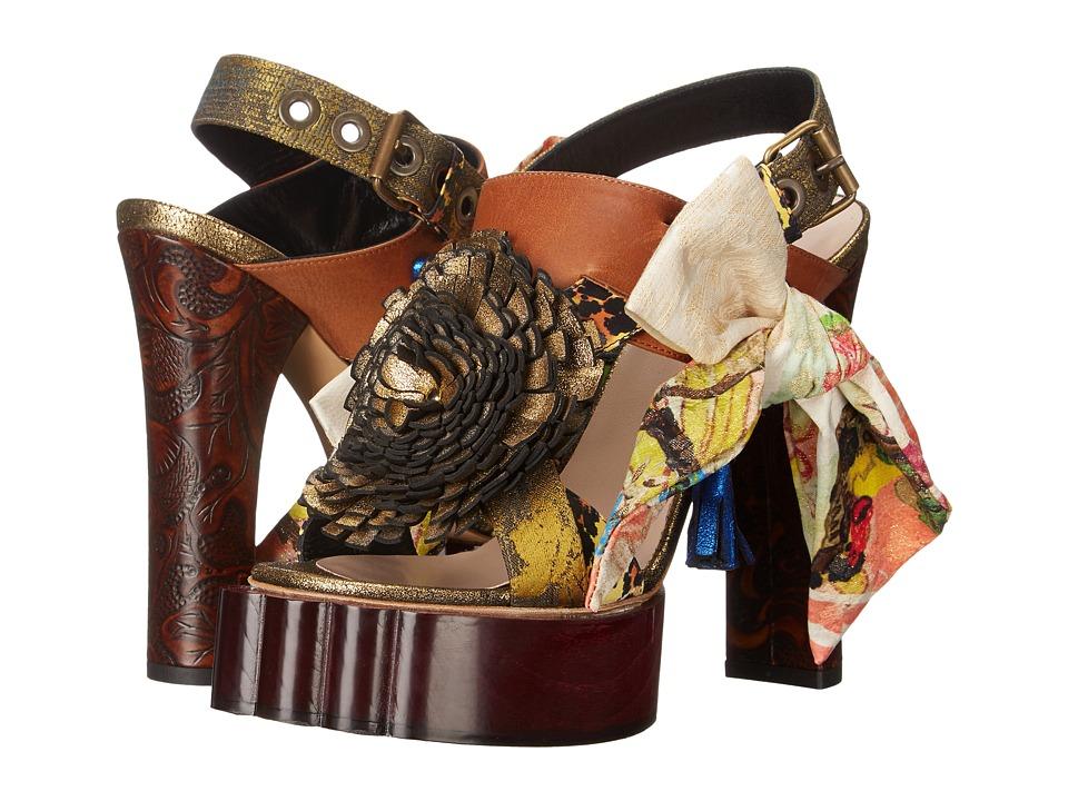 Vivienne Westwood Conjurer Beast Sandal (Multicolor) High Heels