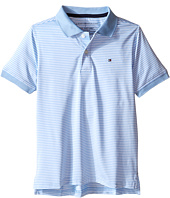 Tommy Hilfiger Kids - Feeder Stretch Synthetic Stripe Polo (Toddler/Little Kids)