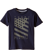 Tommy Hilfiger Kids - Neg Flag Tee (Toddler/Little Kids)